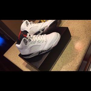 Brand new Air Jordan Retro 5's